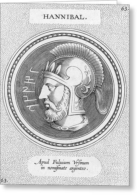 Hannibal (247-183 B.c.) Greeting Card by Granger