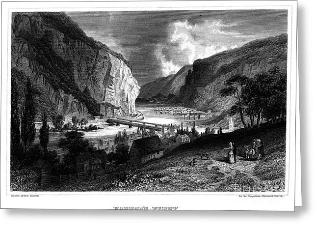 Harpers Ferry Greeting Card by Granger