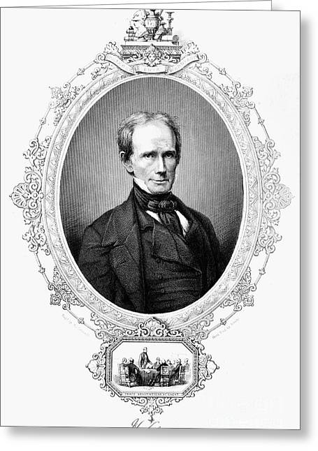 Statesman Greeting Cards - Henry Clay (1777-1852) Greeting Card by Granger