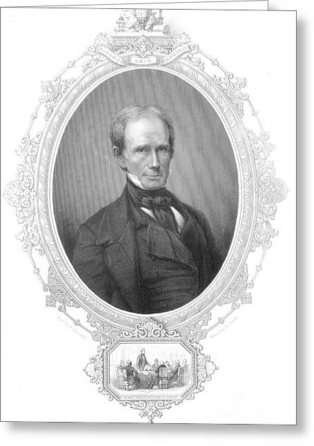 Orator Greeting Cards - Henry Clay Sr., American Politician Greeting Card by Photo Researchers