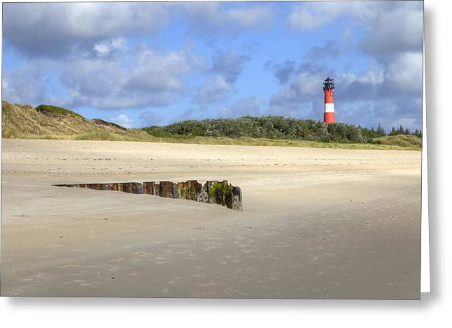Hoernum - Sylt Greeting Card by Joana Kruse