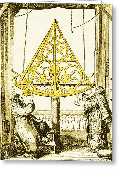 Coelestis Greeting Cards - Johannes Hevelius, Polish Astronomer Greeting Card by Science Source