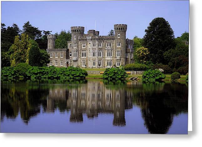 Coloured Greeting Cards - Johnstown Castle, Co Wexford, Ireland Greeting Card by The Irish Image Collection