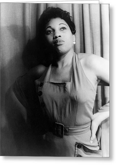 Bess Greeting Cards - Leontyne Price (1927- ) Greeting Card by Granger