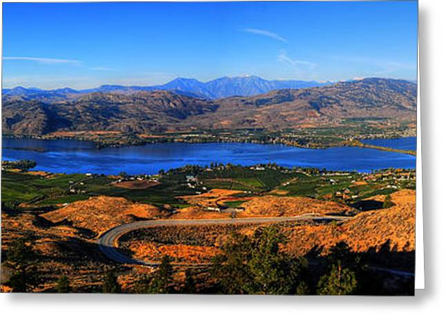 Wesley Allen Photography Greeting Cards - Osoyoos Greeting Card by Wesley Allen Shaw