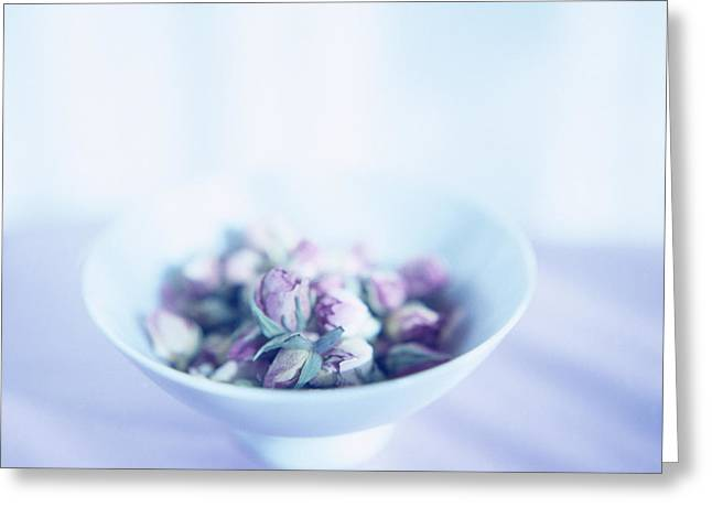 Wellbeing Greeting Cards - Pot-pourri Greeting Card by Cristina Pedrazzini