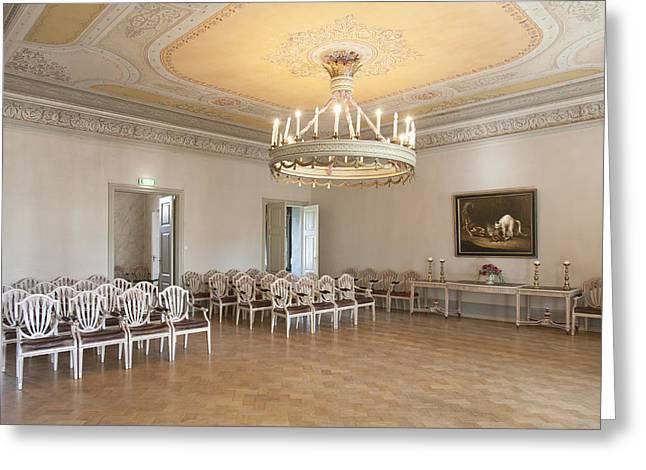 Residential Structure Greeting Cards - Sagadi Manor In Estonia Greeting Card by Jaak Nilson