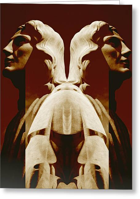 Saint Hope Greeting Cards - St. John Greeting Card by Michele Caporaso