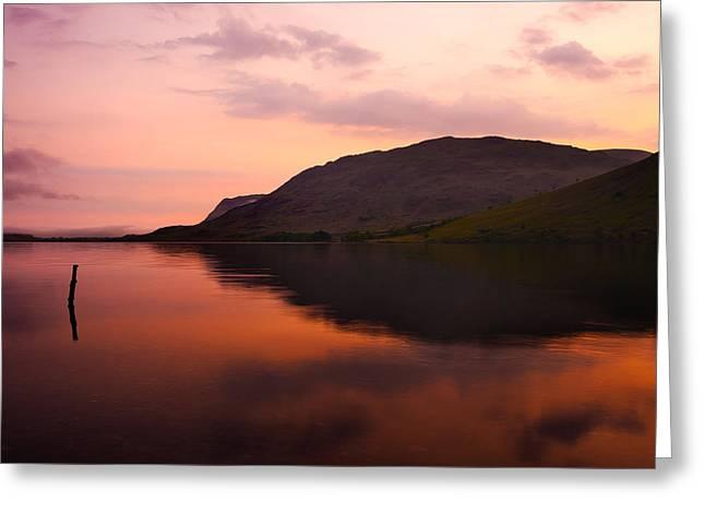 Sunset Greeting Card by Svetlana Sewell