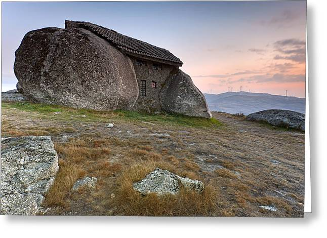 Stone House Greeting Cards - The Stone House Greeting Card by Andre Goncalves