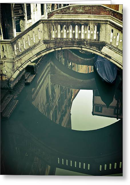 Quietly Greeting Cards - Venezia Greeting Card by Joana Kruse