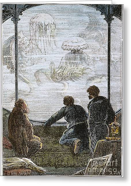 Nemo Greeting Cards - Verne: 20,000 Leagues, 1870 Greeting Card by Granger