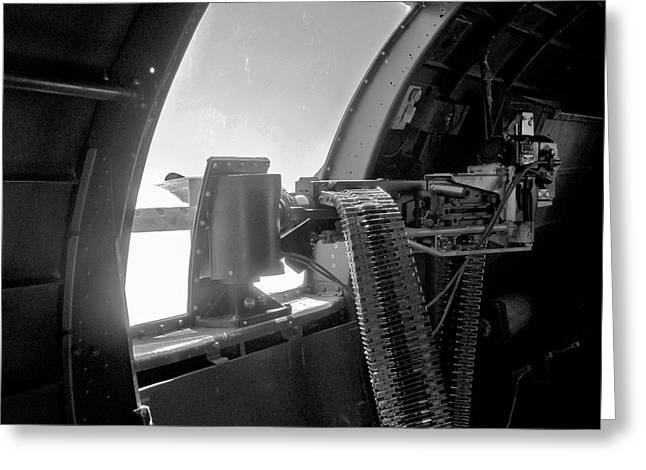 Larry Darnell Greeting Cards - 50 Cal Waist B17 Greeting Card by Larry Darnell