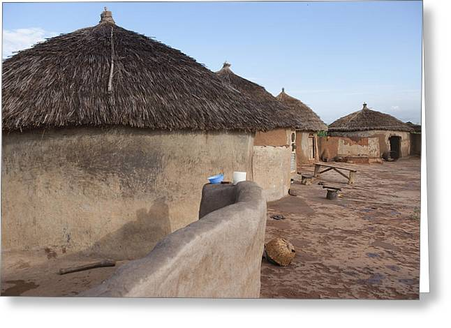 Residential Structure Greeting Cards - Untitled Greeting Card by Phil Borges