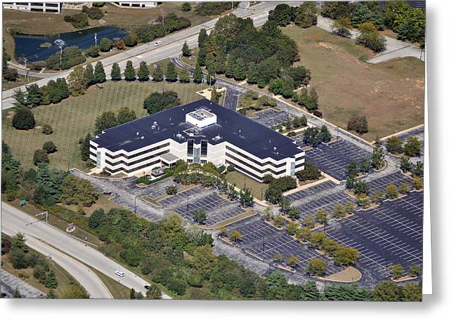 Pearson Aerial Greeting Cards - 52 East Swedesford Road Malvern PA 19355 Greeting Card by Duncan Pearson