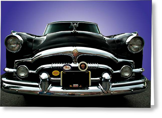 54 Packard Greeting Card by Paul Barkevich