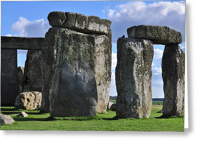 Monolith Greeting Cards - Stonehenge Greeting Card by Stephen Inglis