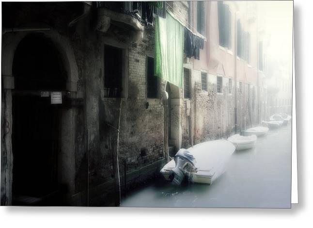 Dilapidated Greeting Cards - Venezia Greeting Card by Joana Kruse