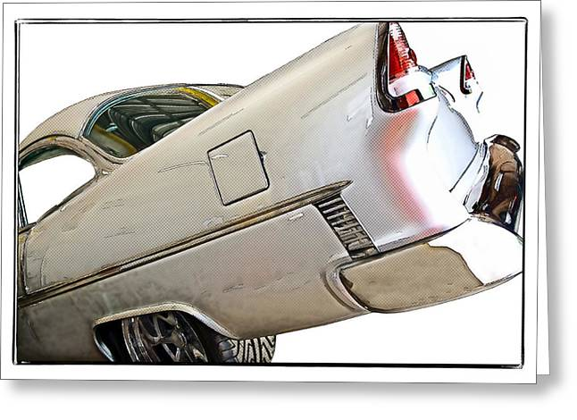 Susan Leggett Greeting Cards - 55 Chevy Greeting Card by Susan Leggett