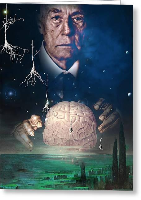 Alienate Greeting Cards - Alzheimers Disease Greeting Card by Hans-ulrich Osterwalder