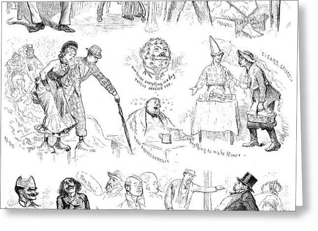 CENTENNIAL FAIR, 1876 Greeting Card by Granger
