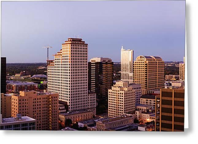 City Skyline Greeting Card by Jeremy Woodhouse