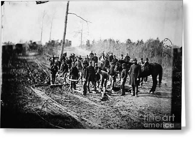 Civil War: Signal Corps Greeting Card by Granger