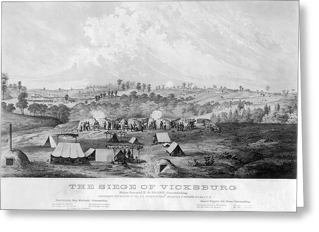 Vicksburg Greeting Cards - Civil War: Vicksburg, 1863 Greeting Card by Granger