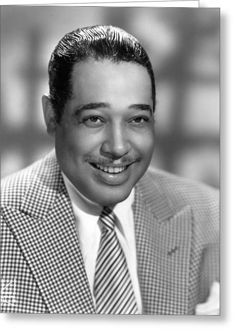 Lapel Greeting Cards - Duke Ellington (1899-1974) Greeting Card by Granger