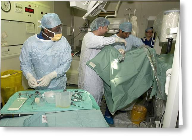 Endoscopy Greeting Cards - Endoscopy Greeting Card by Mr Gordon Muirtony Mcconnell