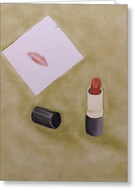 Lipstick Pastels Greeting Cards - 6 Forty-Five p.m. Greeting Card by Elizabeth Sullivan
