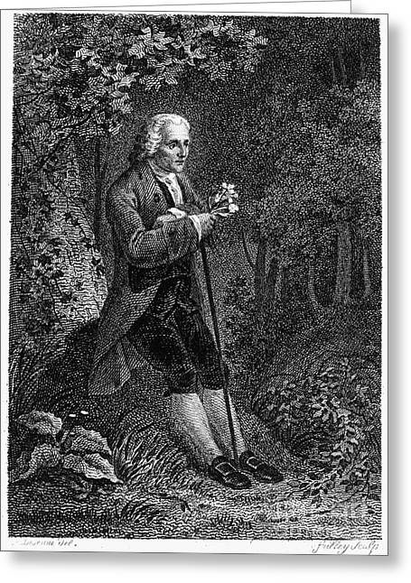 Jean Jacques Rousseau Greeting Card by Granger