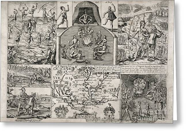 Artists Colony Greeting Cards - John Smith (1580-1631) Greeting Card by Granger