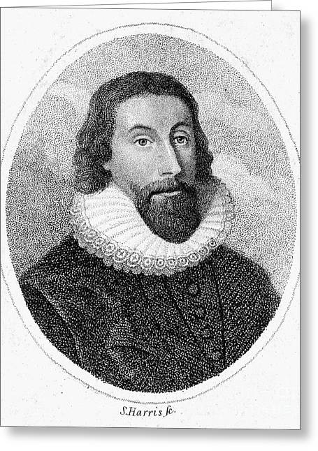 Winthrop Greeting Cards - John Winthrop (1588-1649) Greeting Card by Granger