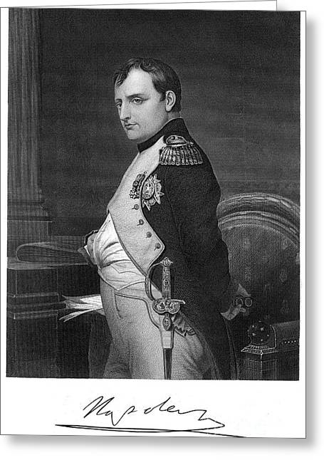 Napoleon I (1769-1821) Greeting Card by Granger