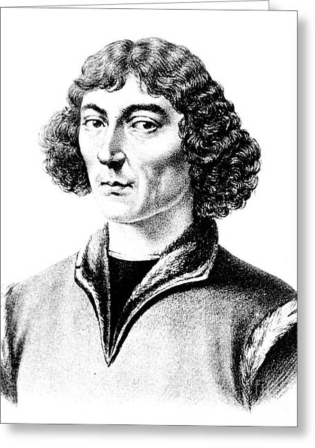 Copernicus Greeting Cards - Nicolaus Copernicus, Polish Astronomer Greeting Card by Science Source