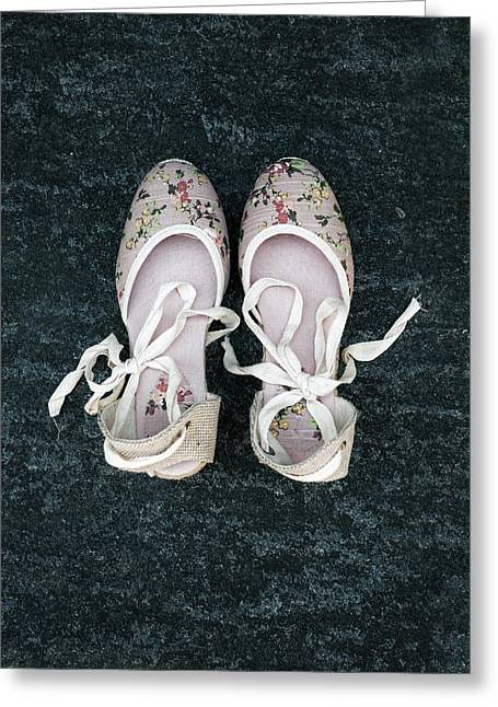 Shoes Greeting Card by Joana Kruse