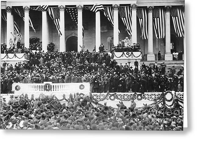 Inauguration Greeting Cards - Taft Inauguration, 1909 Greeting Card by Granger