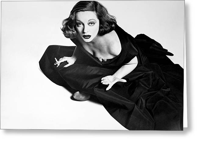 Starlet Greeting Cards - Tallulah Bankhead Greeting Card by Granger