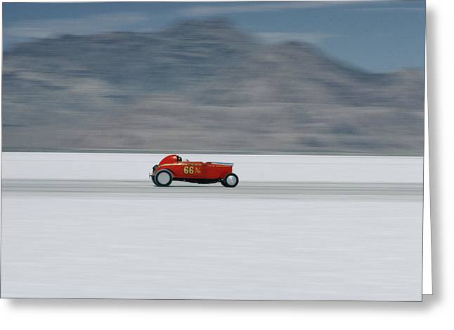 Bonneville Nationals Greeting Cards - Untitled Greeting Card by Walter Meayers Edwards