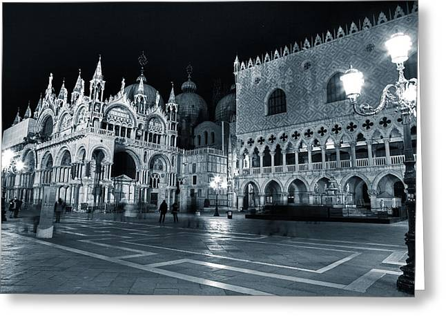 Byzantine Greeting Cards - Venice Greeting Card by Joana Kruse
