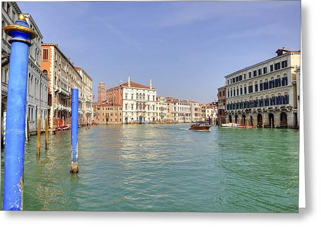 Council Greeting Cards - Venezia Greeting Card by Joana Kruse