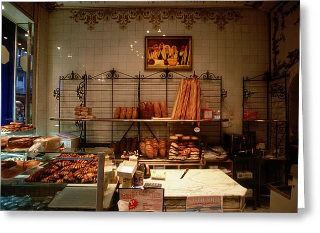 Bakeries Digital Greeting Cards - 658 Greeting Card by John Galbo