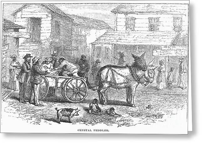 Arkansas Greeting Cards - Arkansas: Hot Springs, 1878 Greeting Card by Granger