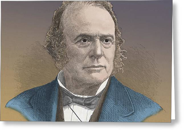 Opponent Greeting Cards - Louis Agassiz, Swiss-american Polymath Greeting Card by Science Source