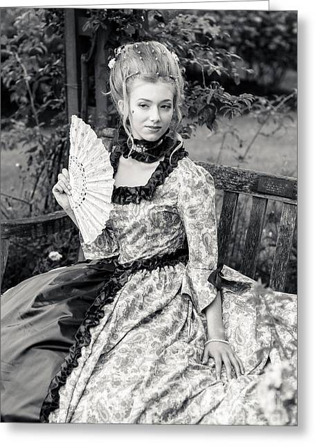 Marie Antionette Greeting Card by Donald Davis