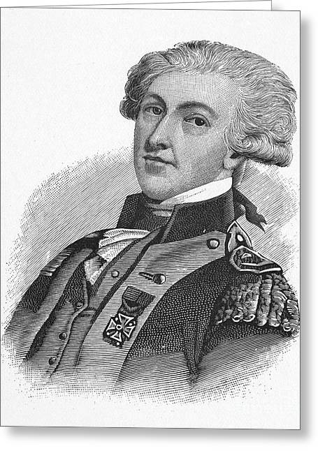 Maltese Greeting Cards - MARQUIS de LAFAYETTE Greeting Card by Granger