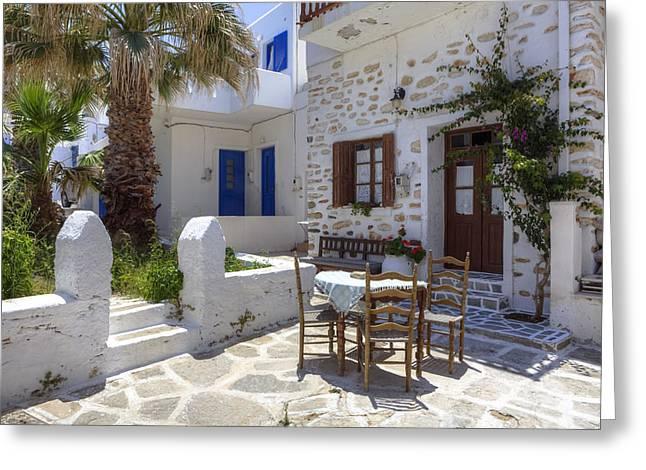 Paros - Cyclades - Greece Greeting Card by Joana Kruse