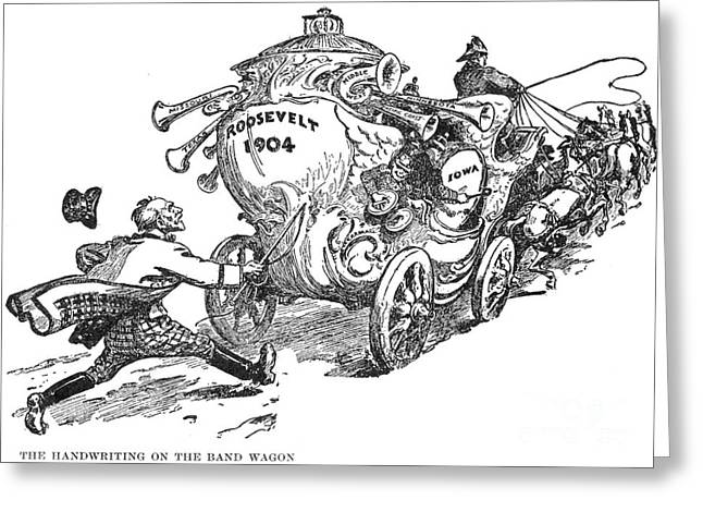 Presidential Campaign, 1904 Greeting Card by Granger