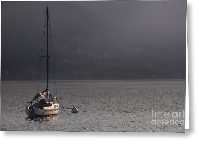 Sailing Boat Greeting Card by Mats Silvan